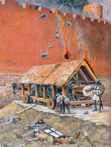 Ở các bức tường kết cấu yếu, rạn vỡ dây chuyền có thể khiến cả một đoạn tường lớn sụp đổ.