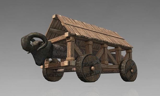 Đây là một công cụ dùng để phá hủy cổng gỗ hoặc tường gạch giúp cho binh lính tiến vào trong thành lũy