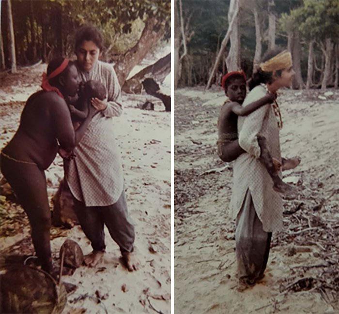 Jarawa là một trong những bộ tộc thân thiện nhất.