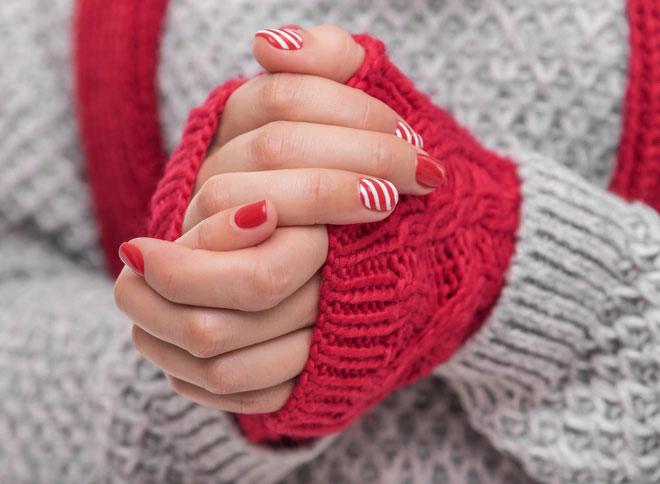 Không đeo găng tay ra đường khi thời tiết lạnh rất có hại.