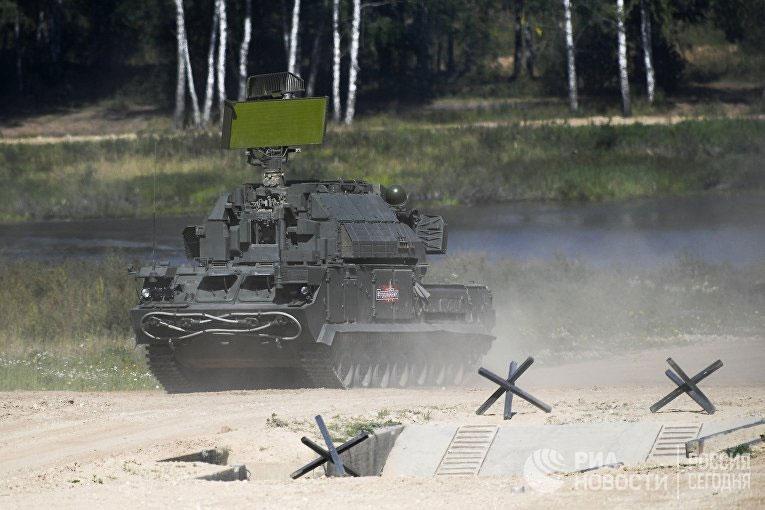 Tổ hợp tên lửa phòng không Tor-M2.