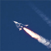 Phi cơ siêu thanh Mỹ chở người lên vũ trụ thành công
