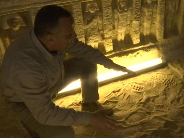 Ông Waziri hy vọng sẽ tìm thấy kho báu trong mộ cổ