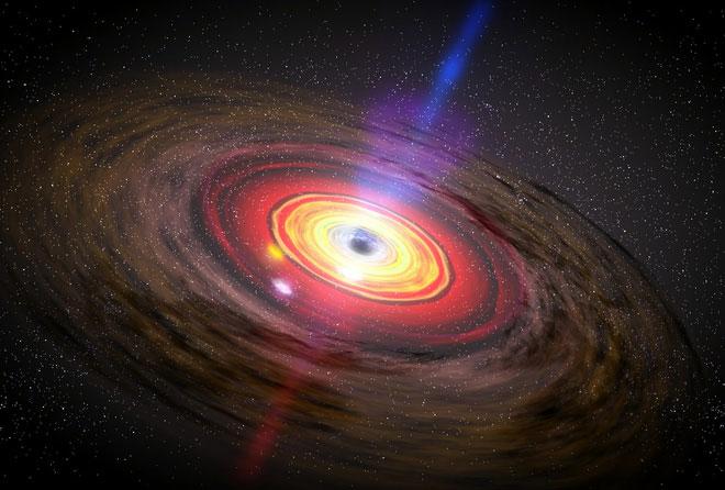 """Hố đen """"mở rộng"""" vào bên trong, chứ không phải tỏa ra bên ngoài như những gì chúng ta tưởng tượng."""