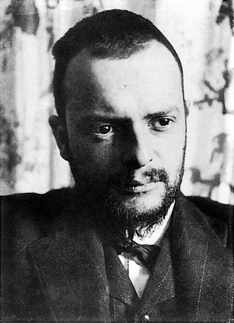 Chân dung họa sĩ Paul Klee.