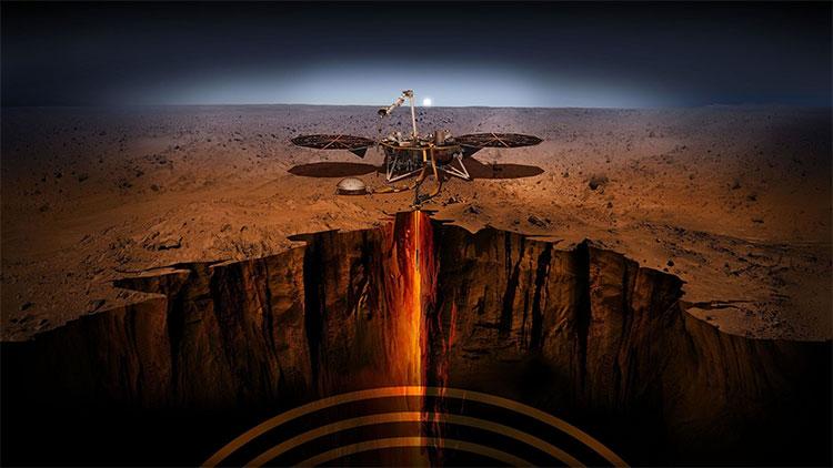 InSight, chiến binh tìm kiếm sự sống mới của sao Hỏa