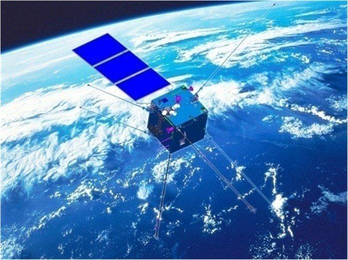 Vệ tinh quan sát điện từ Trương Hành-1 của Trung Quốc thu thập dữ liệu từ không gian nhờ hệ thống cảm biến hiện đại. (Ảnh: SCMP).