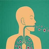 Nhiễm trùng phổi vì ngửi tất bẩn