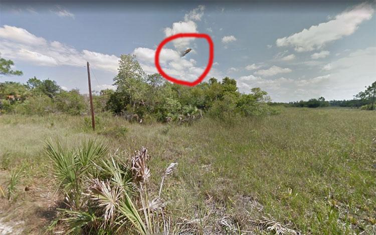 Vật thể bí ẩn được phát hiện trên bầu trời Florida, Mỹ