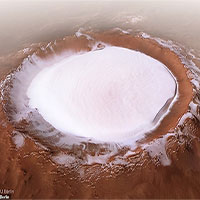 Giáng Sinh trên sao Hỏa: ESA công bố bức ảnh băng tuyết tuyệt đẹp ở hành tinh Đỏ