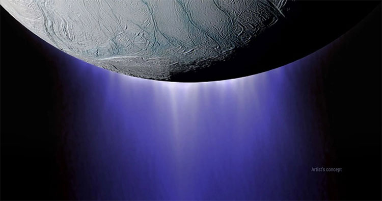 Những mạch nước phun trào ở Enceladus