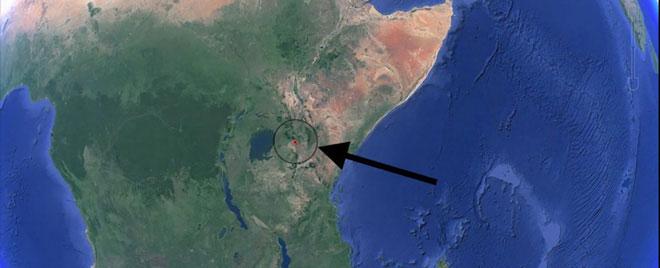 Một vết nứt lớn kéo dài hàng nghìn mét đã bất ngờ xuất hiện đầu năm 2018 ở phía tây nam Kenya.