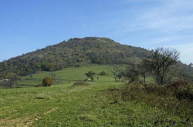 Khu vực được cho là Kim tự tháp ở Bosnia.