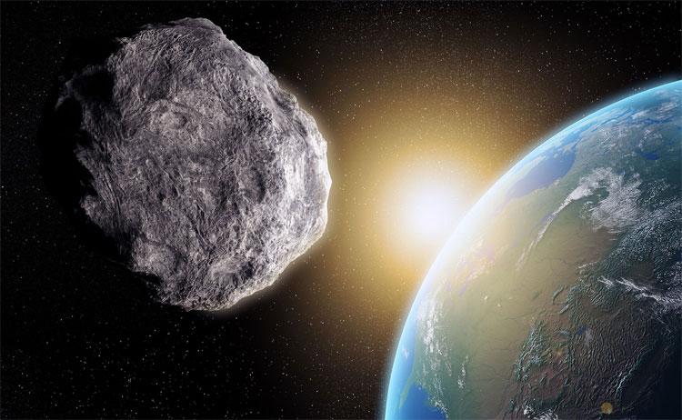 Tiểu hành tinh này sẽ sượt qua Trái đất với vận tốc gần gấp 27 lần vận tốc âm thanh.