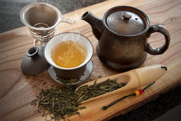 Trà xanh, các món từ trà xanh
