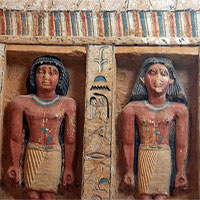 Hé lộ cuộc sống xa hoa bên trong ngôi mộ cổ 4.400 năm tuổi ở Ai Cập