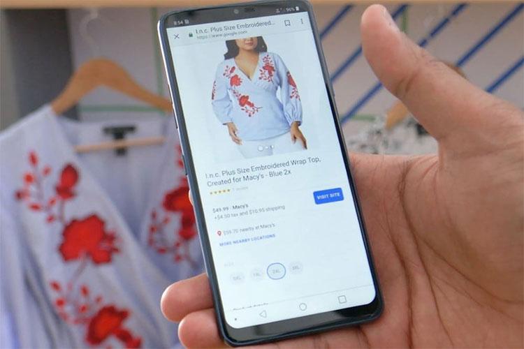 Google Lens nhận diện các sản phẩm và giúp bạn đặt hàng chúng nhanh chóng.