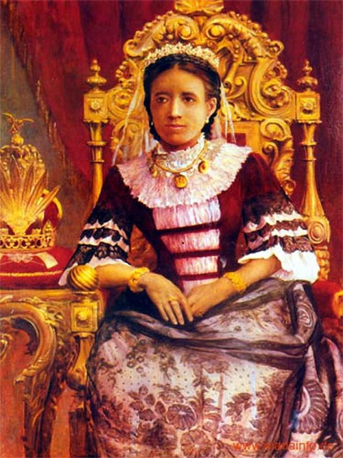 Bà hoàng Madagascar Ranavalona I là một nhà lãnh đạo tàn ác nổi tiếng lịch sử.