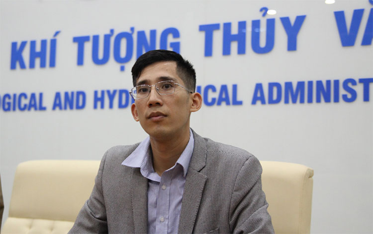 Ông Trần Quang Năng - Trưởng phòng Dự báo thời tiết – Trung tâm Dự báo Khí tượng Thủy văn Quốc gia.