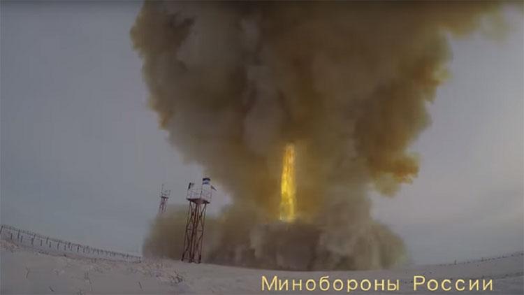 Vụ thử tên lửa siêu thanh Avangard hôm 26/12
