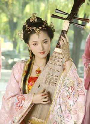 Hình tượng Trần Viên Viên trong bộ phim Trung Quốc năm 2003.