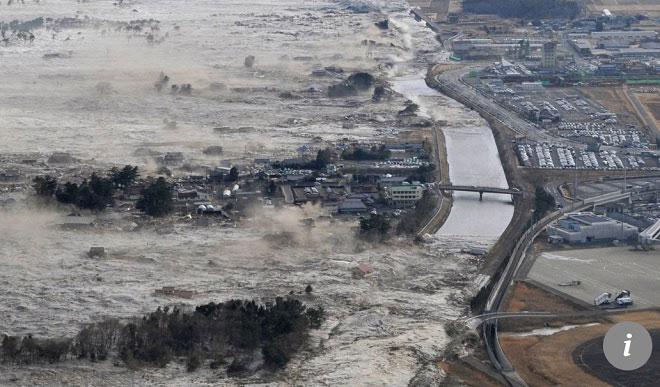 Sóng thần ập vào Nhật Bản năm 2011 được coi là một bài học với Trung Quốc.