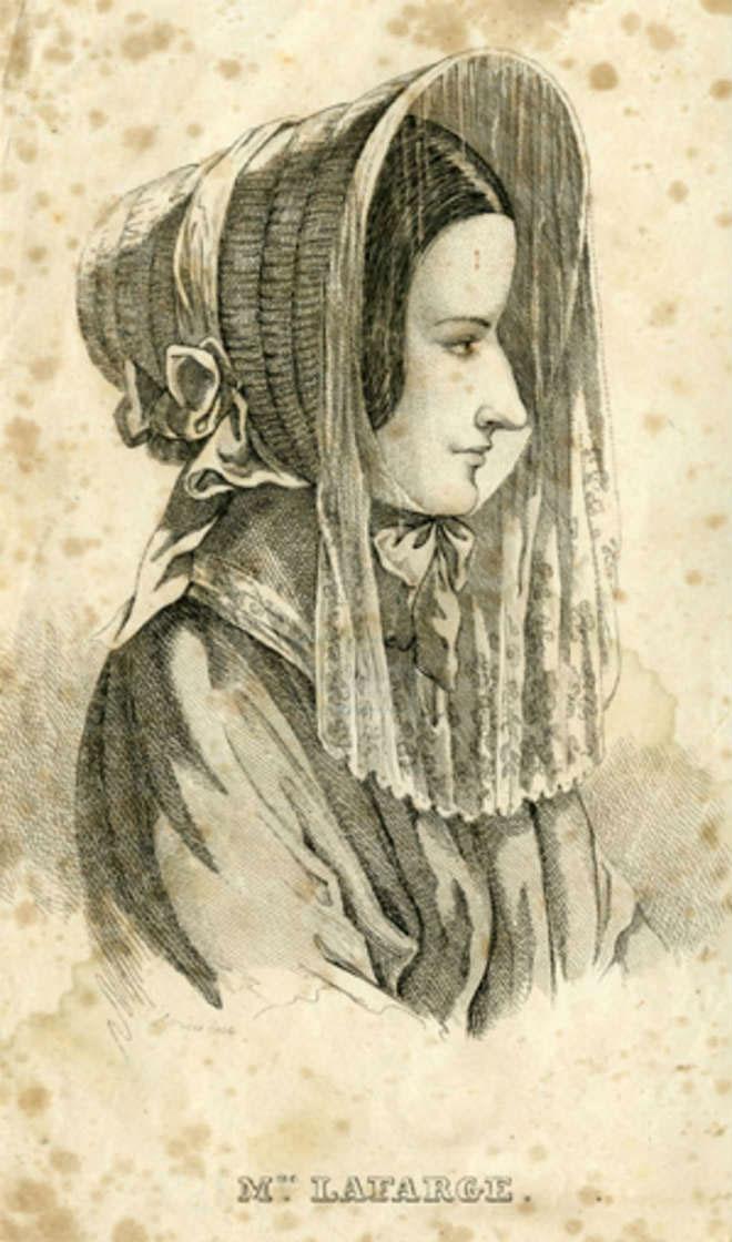 Bức chân dung tự họa của Marie Cappelle.