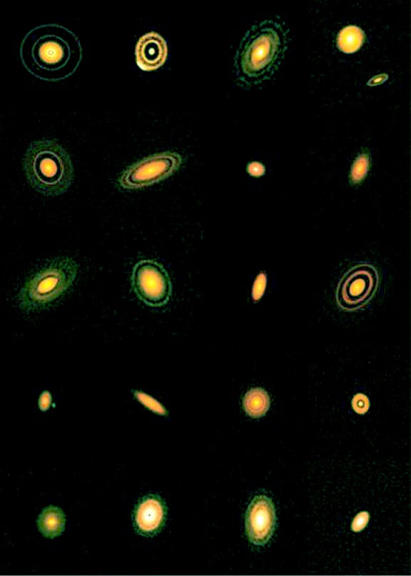 ALMA đã theo dõi và nắm bắt được tới một loạt 20 hành tinh khổng lồ đang hình thành bên ngoài Hệ Mặt trời.