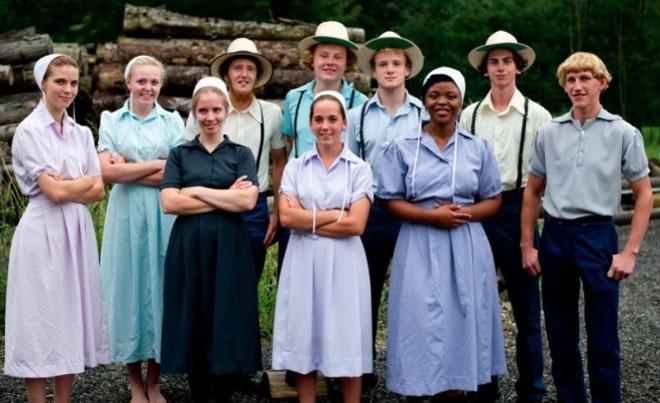 Cộng đồng người Berne Amish.