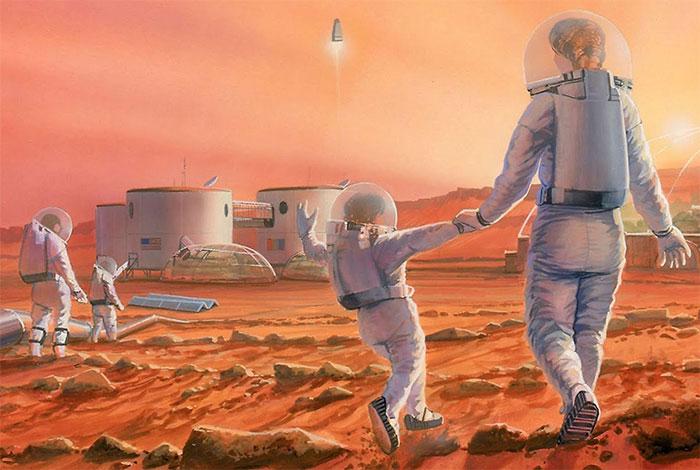 Sinh con ngoài vụ trụ là một phần của chính sách bảo hiểm cho loài người.