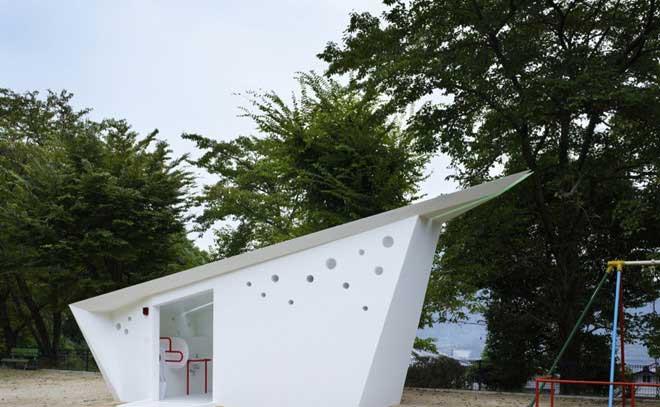 Toilet công viên Hiroshima