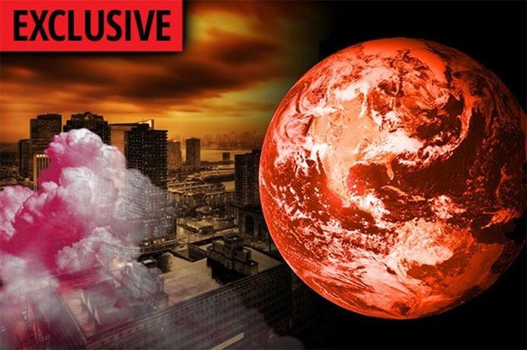 Trái đất đối mặt với viễn cảnh một ngày kia sẽ trở nên đỏ rực như sao Hỏa.