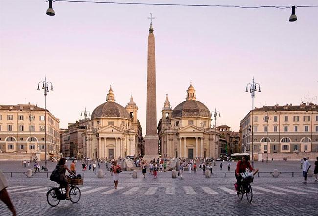 Các công trình kiến trúc nổi bật ở Châu Âu hầu như đều giữ được vẻ nguyên bản