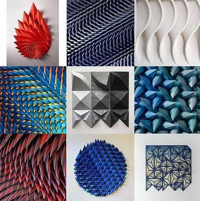 Những tác phẩm do Matt Shlian tạo ra