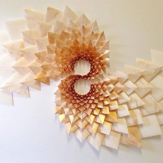 Một tác phẩm của Matt Shlian