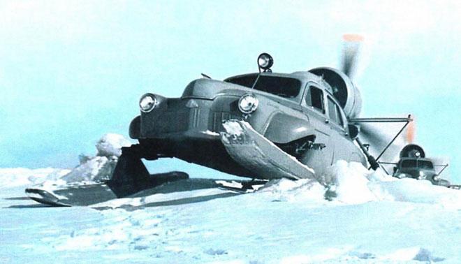 Xe ô tô trượt tuyết