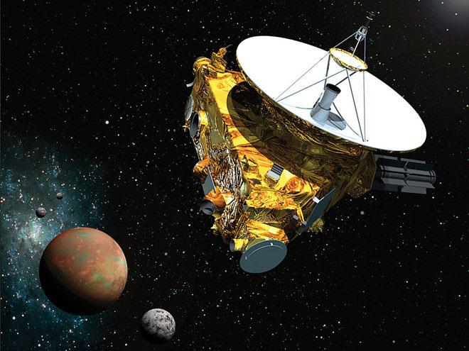 New Horizons, tàu thăm dò đi xa nhất trong lịch sử chinh phục vũ trụ của nhân loại.
