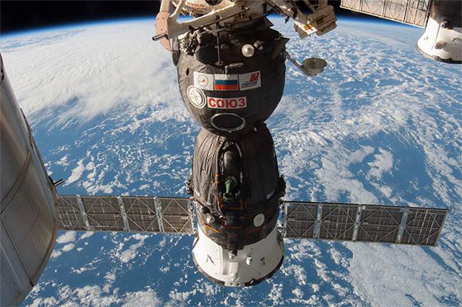 Soyuz, tàu vũ trụ có người lái được sử dụng lâu đời nhất thế giới.