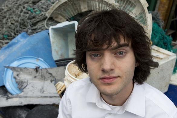 Slat là người sáng lập nên dự án nổi tiếng Ocean Cleanup khi mới 19 tuổi