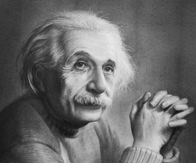 Albert Einstein có nhiều thói quen học tập khác người.