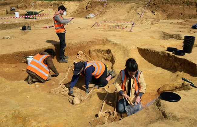 52 bộ xương thuộc về thời La Mã có niên đại 2.000 năm tuổi