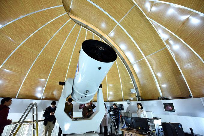 Kính thiên văn quang học với đường kính 0,5m