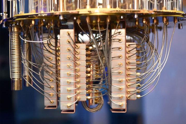 Một máy tính lượng tử phải được giữ ở dưới nhiệt độ đóng băng.