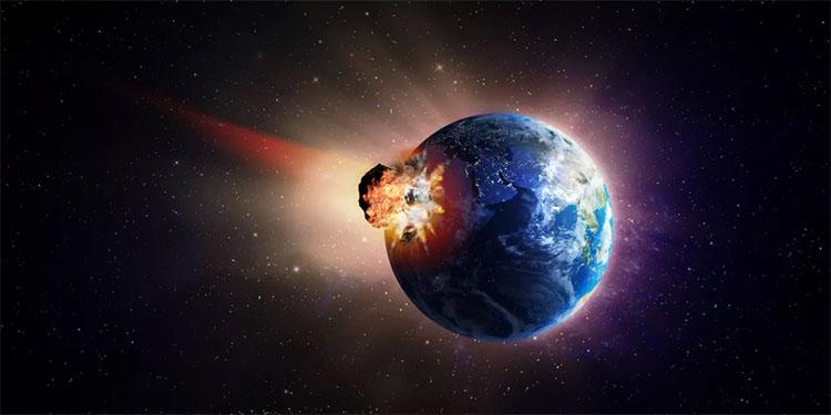 Tiểu hành tinh khổng lồ đã gây ra nhiều loại thảm họa chồng chéo lên trái đất, dẫn đến đại tuyệt chủng
