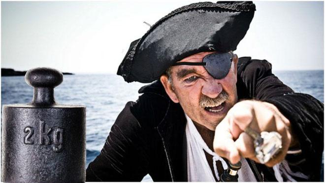 Mỹ không dùng hệ đo lường mét bởi một vụ cướp biển vào năm 1794.