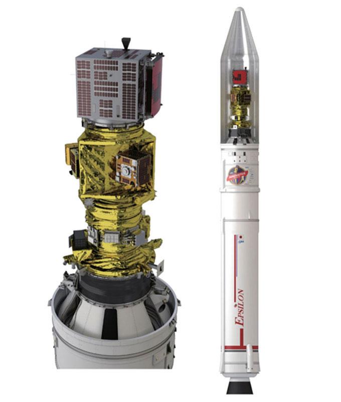 Tên lửa Epsilon số 4 mang theo 7 vệ tinh thử nghiệm công nghệ