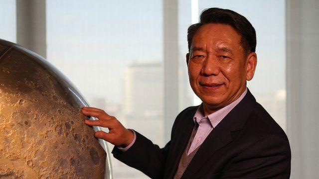 Nhà khoa học đứng đầu dự án Mặt trăng của Trung Quốc, Wu Weiren.