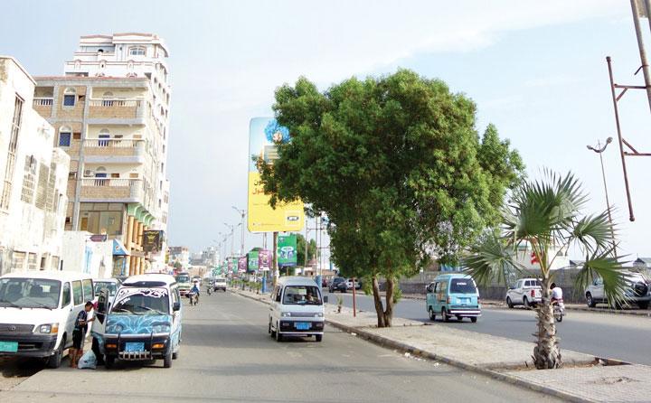 Phố biển nhộn nhịp nhất El Hodeidah.