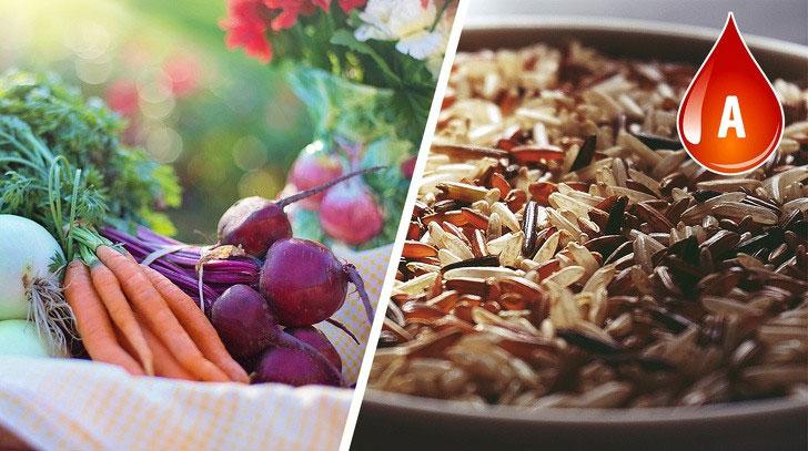 Người có nhóm máu A được gợi ý kết thân với đồ ăn nhiều trái cây, rau xanh, ngũ cốc.