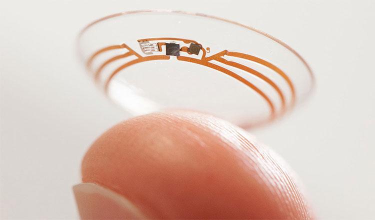 Kính áp tròng của Google sẽ đo lượng đường glucose có trong nước mắt của người dùng một lần mỗi giây.